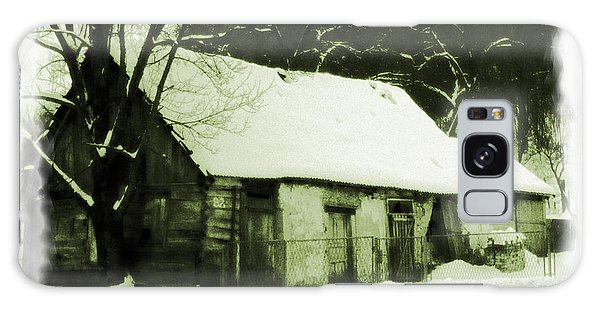 Countryside Winter Scene Galaxy Case by Nina Ficur Feenan