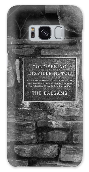 Cold Spring Of Dixville Notch Close-up Galaxy Case by Robin Regan