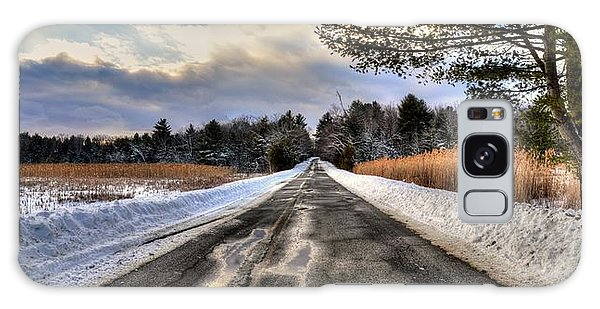 Cold Spring Road - Berkshire County Galaxy Case