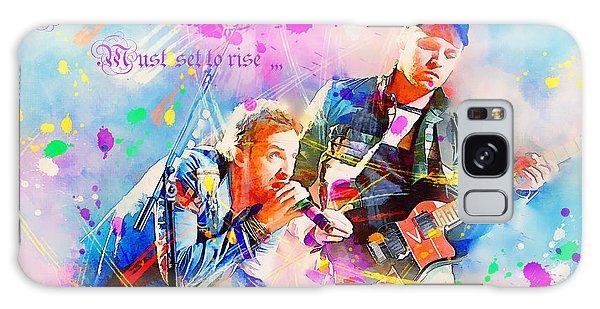 Coldplay Lyrics Galaxy Case
