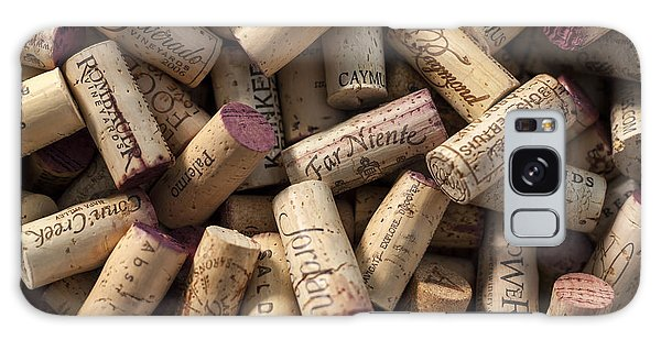 Collection Of Fine Wine Corks Galaxy Case by Adam Romanowicz