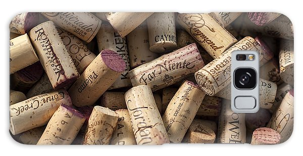 Collection Of Fine Wine Corks Galaxy Case