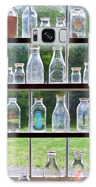 Recycle Galaxy Case - Collector - Bottles - Milk Bottles  by Mike Savad