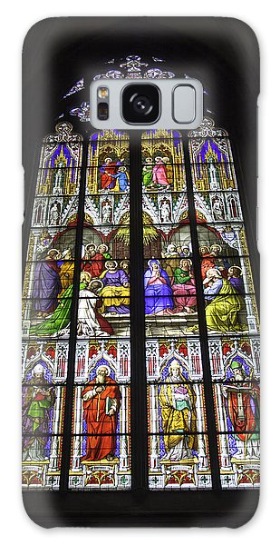 Cologne Cathedral Stained Glass Window Of Pentecost Galaxy Case