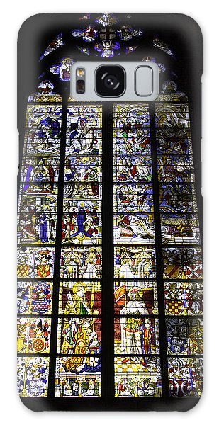 Cologne Cathedral Stained Glass Window Of St Peter And Tree Of Jesse Galaxy Case