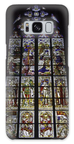 Cologne Cathedral Stained Glass Window Of The Nativity Galaxy Case