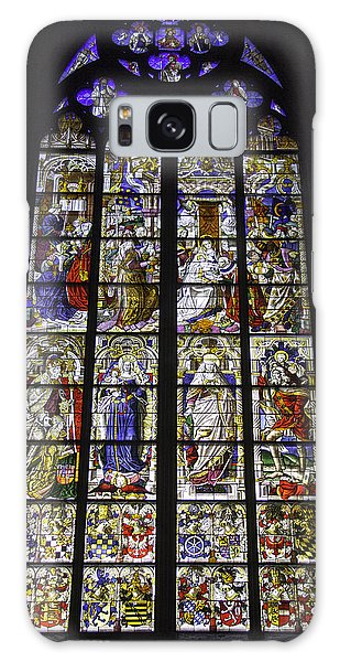 Cologne Cathedral Stained Glass Window Of The Three Holy Kings Galaxy Case