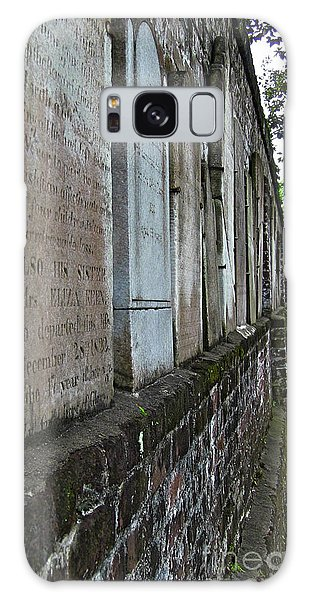 Colonial Park Cemetery Galaxy Case by D Wallace