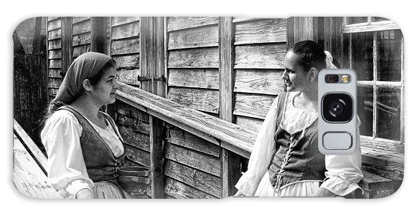 Colonial Spanish Women Galaxy Case by Bob Pardue