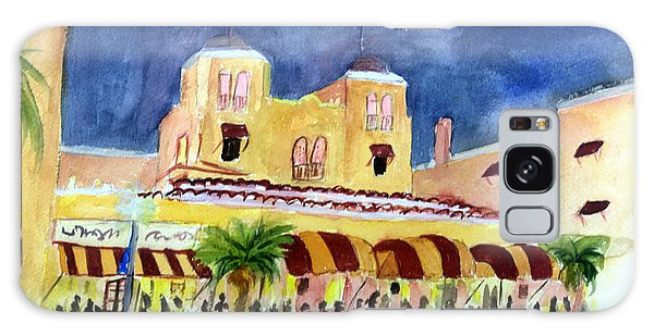 Colony Hotel In Delray Beach Galaxy Case by Donna Walsh