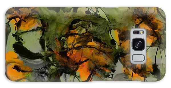 Color Abstraction Xvii Galaxy Case by David Gordon