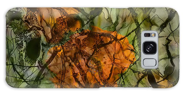Color Abstraction Xx Galaxy Case by David Gordon