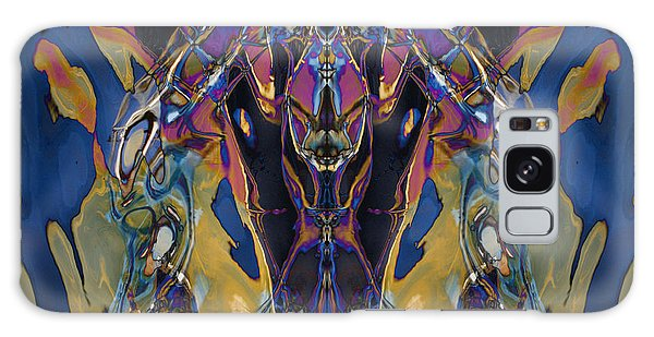 Color Abstraction Xxi Galaxy Case