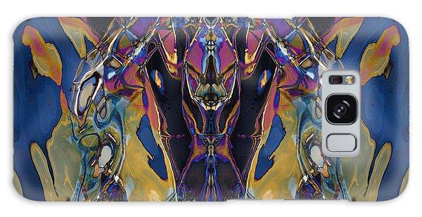Color Abstraction Xxi Galaxy Case by David Gordon
