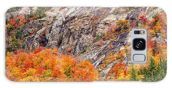 Color And Granite In Crawford Notch Galaxy Case