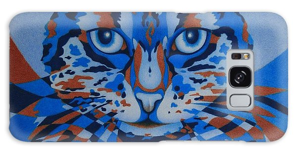 Color Cat IIi Galaxy Case by Pamela Clements