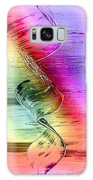 Color-dream Galaxy Case by Nico Bielow