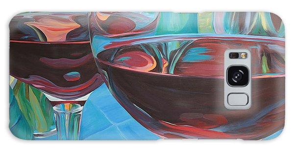 Color Flow Galaxy Case by Trina Teele