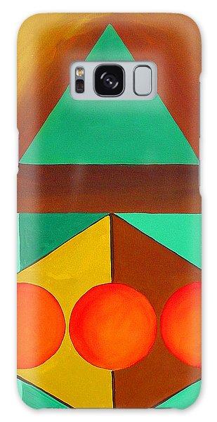 Color Geometry - Triangle Galaxy Case by Carolyn Goodridge
