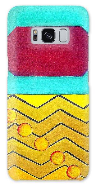 Color Geometry - Hexagon Galaxy Case by Carolyn Goodridge