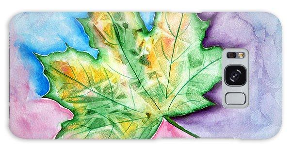 Color Leaf Galaxy Case