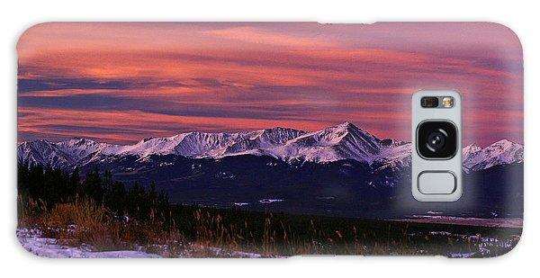 Color Of Dawn Galaxy Case