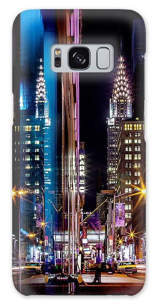 Chrysler Building Galaxy Case - Color Of Manhattan by Az Jackson