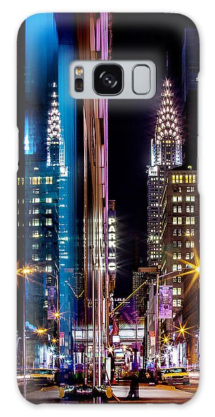 Colour Galaxy Case - Color Of Manhattan by Az Jackson