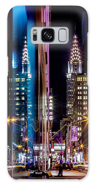 Famous Artist Galaxy Case - Color Of Manhattan by Az Jackson