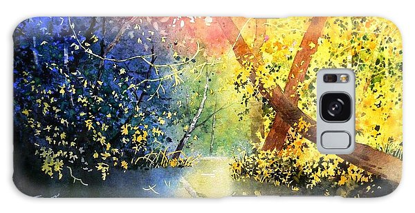 Color Of Trees Galaxy Case