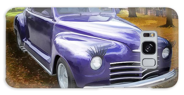 Color Painting Of A Complete 1948 Plymouth Classic Car 3389.02 Galaxy Case