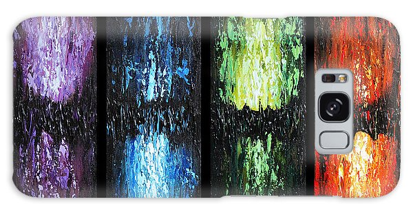 Color Panels 1 Galaxy Case by Patricia Lintner
