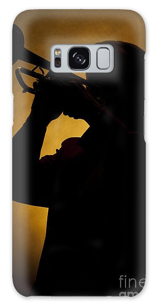 Color Silhouette Of Trumpet Player 3019.02 Galaxy Case