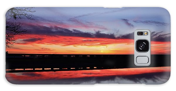 Color Splash Sunset Galaxy Case