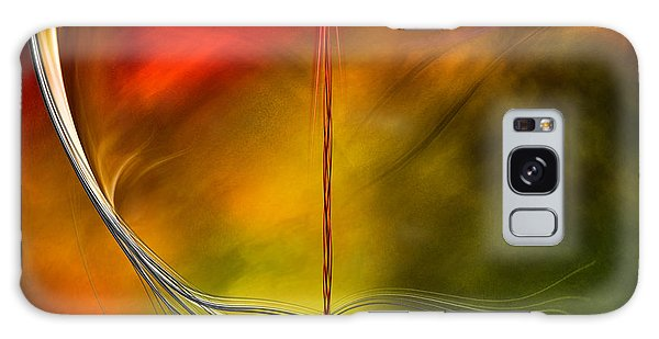Color Symphony With Red Flow 3 Galaxy Case by Johnny Hildingsson