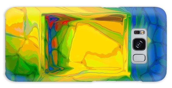 Color Television Galaxy Case by Constance Krejci