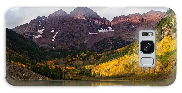 Colorado 14ers The Maroon Bells Galaxy Case
