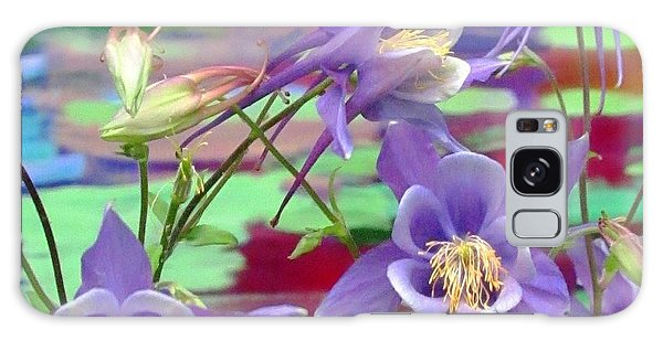 Colorado Columbine Galaxy Case by Brenda Pressnall