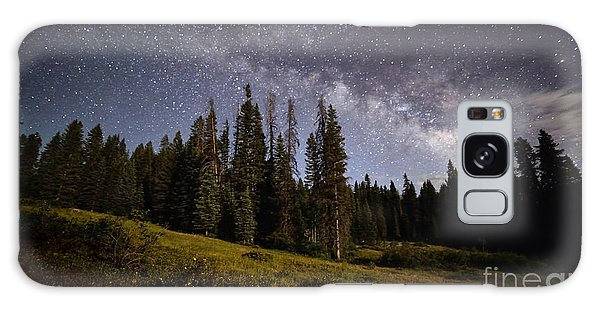Galaxy Case featuring the photograph Colorado Milky Way by Brian Spencer