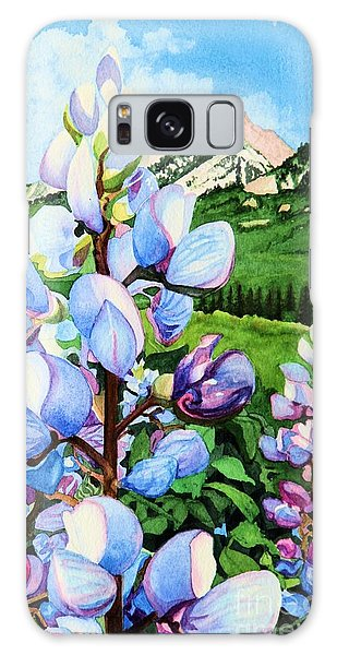 Colorado Summer Blues Close-up Galaxy Case by Barbara Jewell