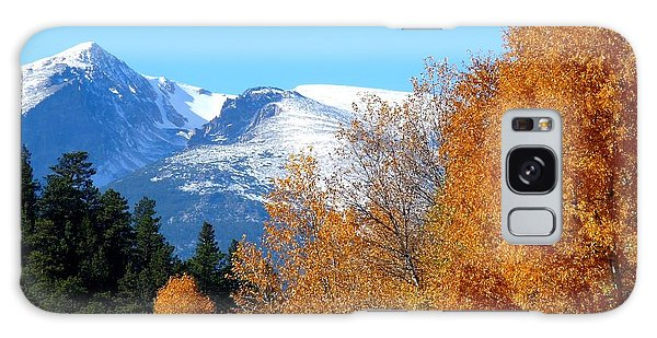 Colorado Mountains In Autumn Galaxy Case