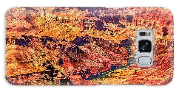 Colorado River 1 Mi Below 100 Miles To Vermillion Cliffs Utah Galaxy Case