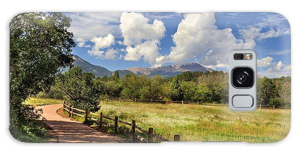 Colorado Scenic Pathway Galaxy Case by Cheryl Davis