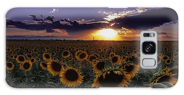 Colorado Sunflowers Galaxy Case