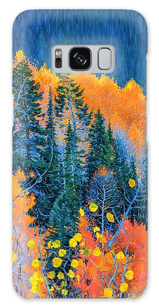 Colorado Trees At Fall Galaxy Case