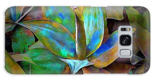 Colored Cactus Galaxy Case