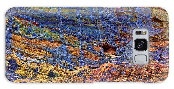 Colored Cliffs  Galaxy Case by Todd Breitling