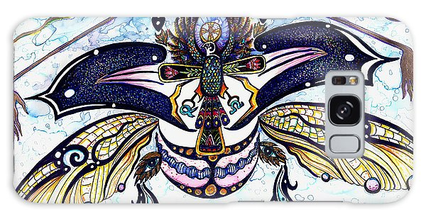 Colored Cultural Zoo B Sacred Scarab Galaxy Case
