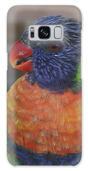 Colored Feathers Galaxy Case