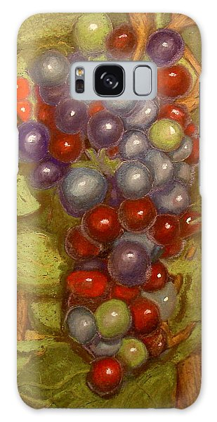 Colored Grapes Galaxy Case by Joseph Hawkins